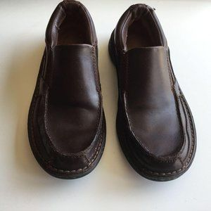 Streetcars Cayman Brown Leather Slip On Loafers